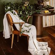 新申亚麻大师 | 亚麻盖毯怎么清洁?