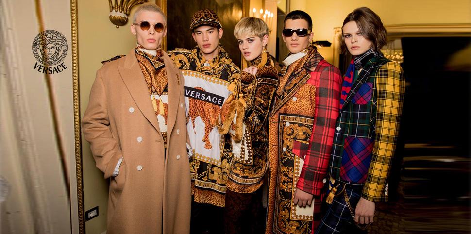 范思哲Versace男装诚邀您的加盟