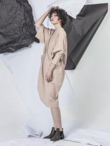 NIIJII设计师女装个性连衣裙