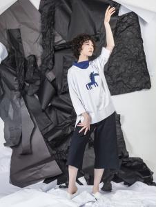 NIIJII设计师女装简约卫衣