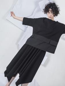 NIIJII设计师女装简约连衣裙