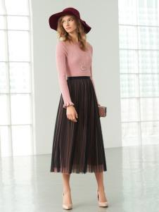 歌莉娅女装歌莉娅春装裙子