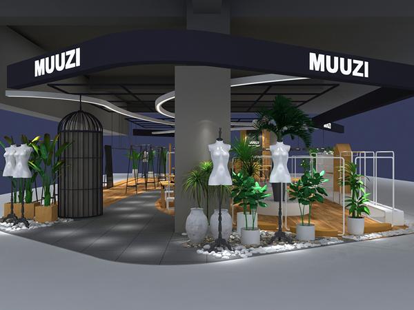 MUUZI木子集合馆形象图品牌旗舰店店面