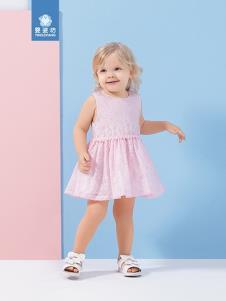 婴姿坊女童连衣裙