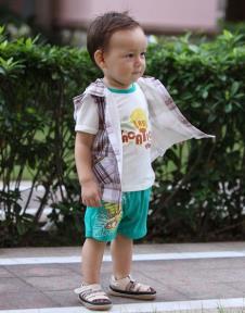 拉比婴童装样品