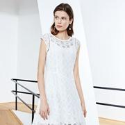 白色连衣裙穿什么好看 ECA女装连衣裙好看吗