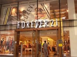 国际快时尚进入黑暗时期:FOREVER 21也申请破产重组