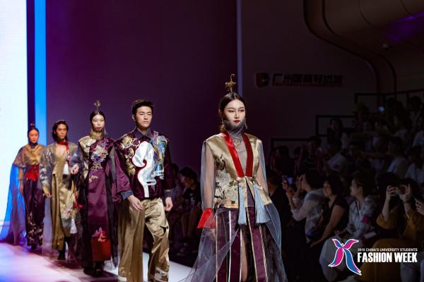 淺談2019中國(廣東)大學生時裝周上的高級國風美學