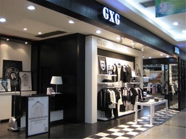 GXG男装专卖店品牌旗舰店店面