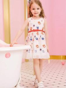 小猪佩奇童装女裙