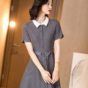 职场OL穿什么衬衫裙比较时尚 米思阳新款推荐