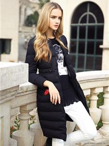 素帛冬装羽绒服