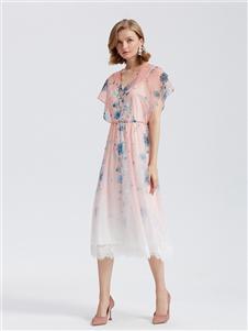欧时力女装样品展示