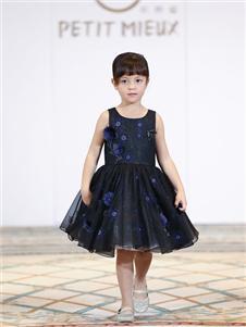 贝的屋女童时尚连衣裙