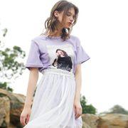 夏天穿紫色?#27599;?#21527;  COCO TDZZY紫色单品如何搭配