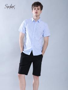 Saslax莎斯莱思男装夏季新款