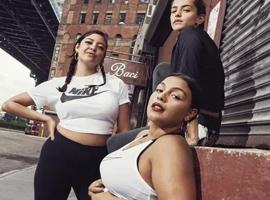 多样性方面迈出的一大步 Nike新店首次展出大码模特
