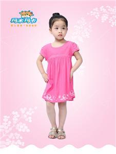 玛米玛卡童装样品展示