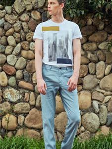 安正男裝夏季新款T恤