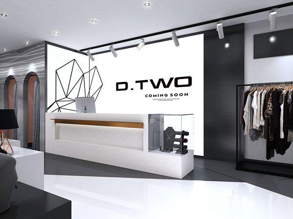 DTWO女装店铺形象图品牌旗舰店店面