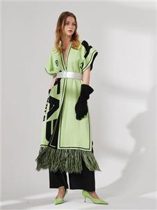 DTWO原创女装19新款个性裙子