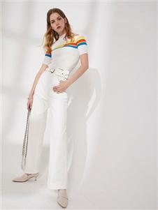 DTWO原创设计女装19新款休闲裤