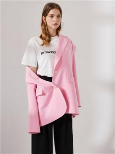 DTWO原創設計女裝19新款外套
