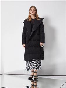 DTWO原創設計女裝19新款羽絨服
