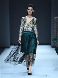罗拉密码女装罗拉密码女装绿色时尚套装