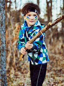 探路者童裝秋冬新款羽絨服