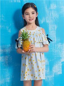 诺贝达童装诺贝达童装新款女童连衣裙