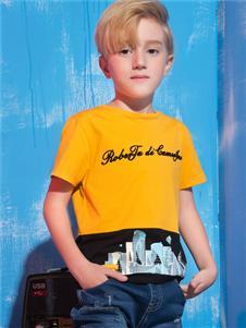 诺贝达童装诺贝达童装新款男童T恤