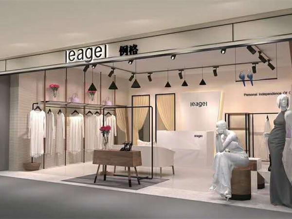 LEAGEL例格女装店品牌旗舰店店面