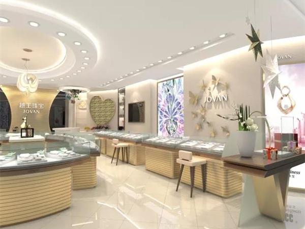 越王珠宝店铺展示