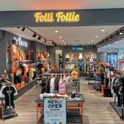 热烈祝贺FolliFollie芙丽芙丽童装湖南柳州五星百货店开业大吉!