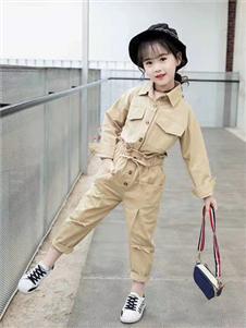 MUUZI木子童装秋冬新款套装