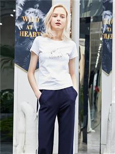 红雨鸶夏季新款休闲裤