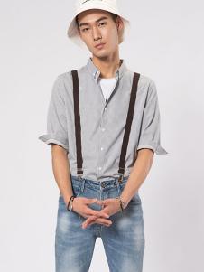 CAISEDI男士衬衫 款号358094