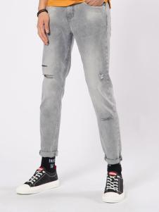 CAISEDI 破洞牛仔裤 款号358098