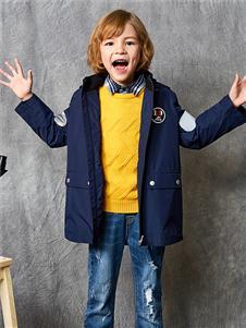 红蜻蜓童装新款长外套