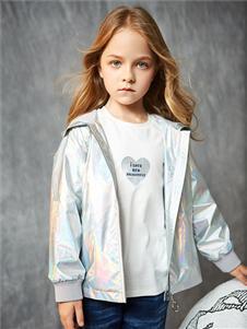 红蜻蜓童装新款女童外套