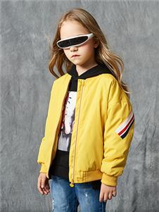 红蜻蜓童装新款长袖外套