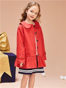 红蜻蜓童装新款外套