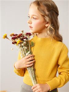 红蜻蜓童装新款针织衫