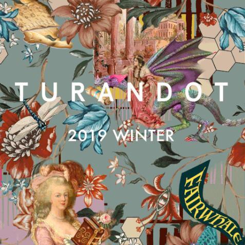 2019WINTER新品发布| 圖蘭朵 TURANDOT