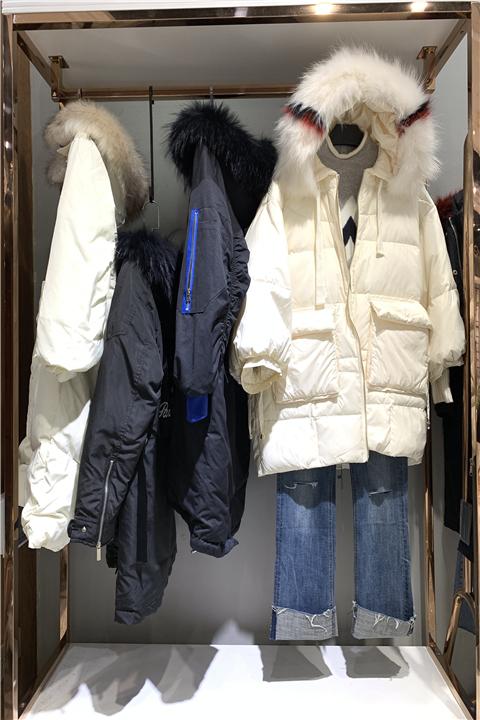 卡巴依羽绒服杭州轻奢品牌女装货源在哪有
