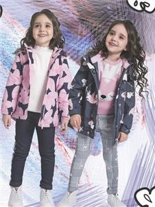 水孩儿童装水孩儿女童2019秋新款外套