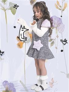 水孩儿女童19新款可爱裙子