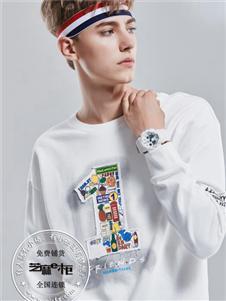芝麻e柜男装新款卫衣