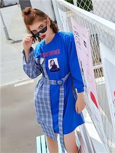 贝珞茵女装2019新款卫衣裙